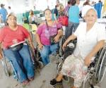 Niegan despensa a discapacitadas