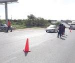Encuentran una granada oxidada en la vía pública