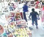 Captan en video a par de ladrones