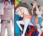 Ya tienen piñata El Chapo y El Bronco
