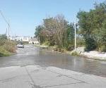 Surgen ríos de aguas residuales