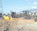 Explota gasoducto, pero Pemex calla