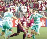Se complica Santos en Concachampions