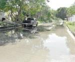 Urge atención a problema en el drenaje