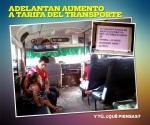 Adelantan aumento al transporte público