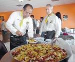 Organizan la muestra gastronómica