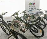 Cambian carros por bicicletas eléctricas