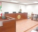 Sin estrenar sala de juicios orales
