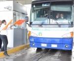 Inicia cruce de buses en Puente Internacional Colombia