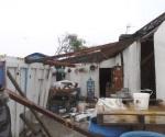 Ventarrones dejan daños y 1 desaparecido en Higuerillas