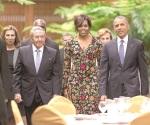 Tensiones al desnudo en la reunión Castro-Obama