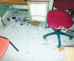 Saquean oficina de Educación