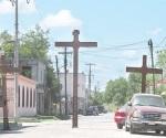 Obstruyen cruces una arteria en la Cuauhtémoc