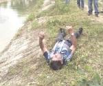 Cae anciano a canal de riego y se ahoga