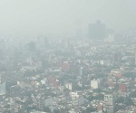 Con alta contaminación amaneció el Valle de México