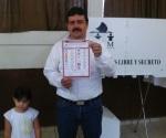 Carlos Ulivarri cumple deber cívico