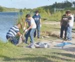 Rescatan ahogado en el río