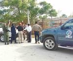 Piden evacuar familias en el ejido Los Cavazos