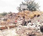 Se quejan vecinos por basurero reactivado