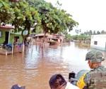 Lluvias cobran 9 vidas en 72 horas en Jalisco y Chiapas