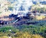 Derriban helicóptero de PGJE en Michoacán; mueren 4
