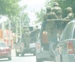 Garantiza seguridad la presencia de militares