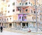 Daña a 32 supuesto ataque químico cerca de Aleppo