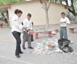 Expondrán a niños reciclaje de la basura