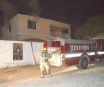 Saquean casa y le prenden fuego en forma intencional