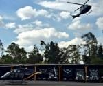 Helicóptero traslada a hospital a joven con quemaduras