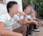 Consumen niños tabaco y alcohol
