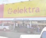 Saquean tienda Elektra de MA