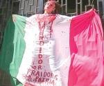 Marchan en Tampico  contra 'gasolinazo'