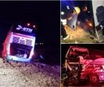 Chocan autobús y tráiler en Jalisco; hay 4 heridos
