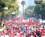 Marcha contra el gasolinazo