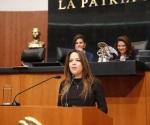 Senadora panista emite propuesta sobre desechos