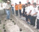Siguen con el programa de educación ambiental
