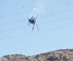 Cae helicóptero de PEP; hay 4 muertos