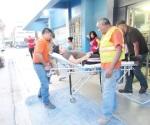 Trasladan a joven de urgencia a Reynosa