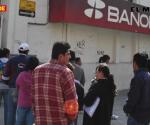 Cerrarán bancos jueves y viernes