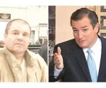Propone Ted Cruz que El Chapo pague muro