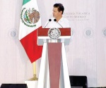 Urge Peña a combatir problemas con riqueza