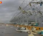 Tornado y apagones: frontera en tinieblas