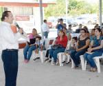 Reciben en la colonia López Portillo beneficios de brigada