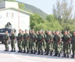 Anuncian arribo de militares al estado