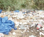 Ponen en riesgo la salud pública con basura médica
