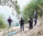 Flota en el río Bravo supuesto hondureño
