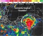 Alerta por posible llegada de ciclón al sur de Tamaulipas