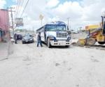 Cambian la ruta del transporte en la Almaguer