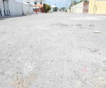 Desaparece pavimento en La Joya